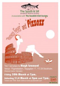 Roman Fever and Pizzazz Poster